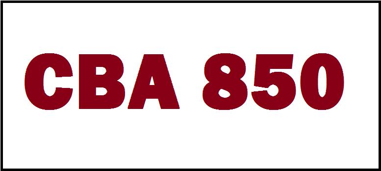 CBA850 Series